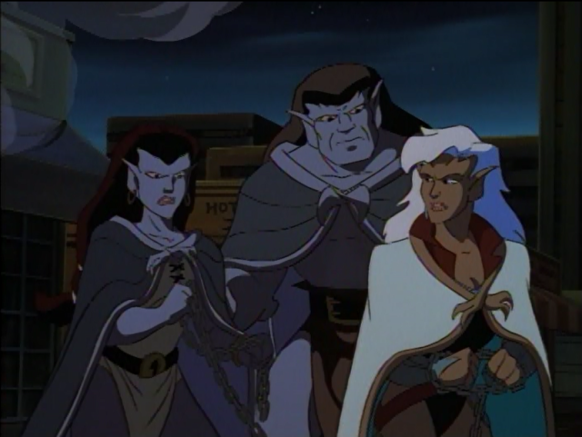 Angela, her father Goliath, & Delilah from Disney's ...