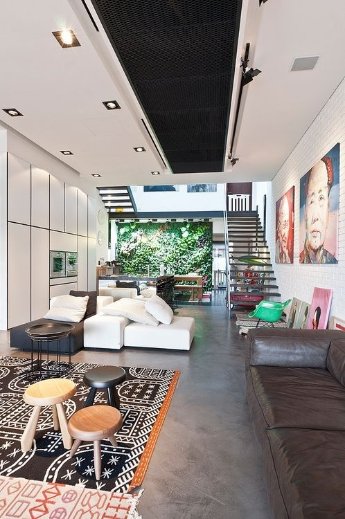 terrace house in singapore by architology featuring a collection of