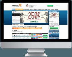 Présentation de LETURF, de son offre de paris turf, de ses avantages et inconvénients et astuce pour optimiser le bonus de bienvenue de 250 euros : https://www.betschool.fr/leturf-bonus-de-bienvenue-de-250e-presentation/