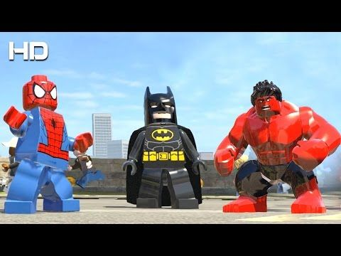 Spider Man vs Red Hulk vs Batman LEGO Marvel Super Heroes | GMAC ...