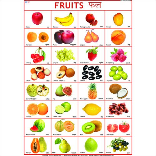 Pin By Mic Hae Lla On Kindergarten Vegetable Chart Fruit Names