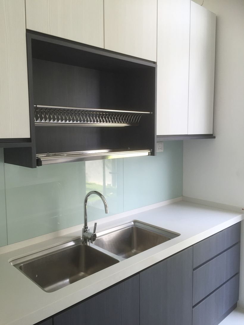 The Cube Modern Bungalow Design At The Mines Kitchen Sink Design Modern Kitchen Kitchen Style