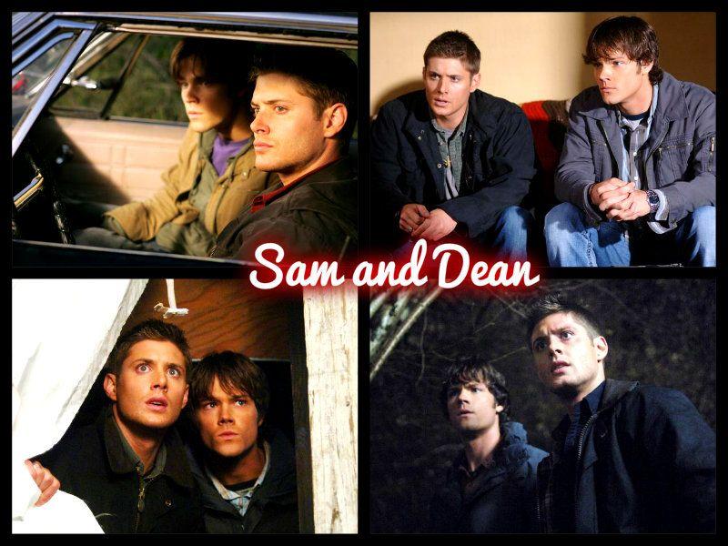 Sam and Dean#supernatural