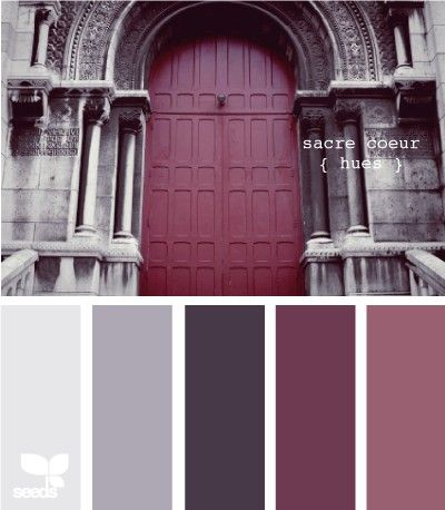 Color Palette Deep Purple Blackberry And Aubergine Love This Color Combo For Master Bedroom