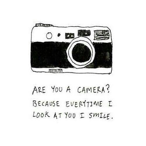 camera chat up lines