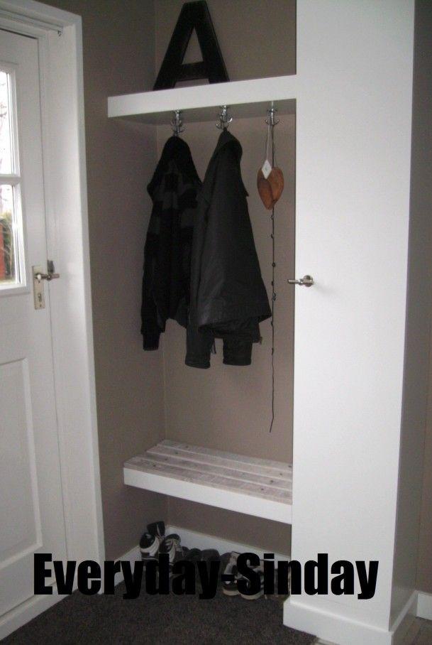 Interieurideeën Kapstok In De Hal Met Kast En Handig