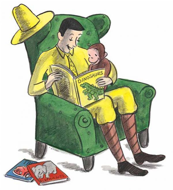 The Man With The Yellow Hat Gets Therapy Curious George Animated Characters Curious George Birthday