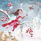 Kerstkaart - Engel & Besjes (Cartita Design)