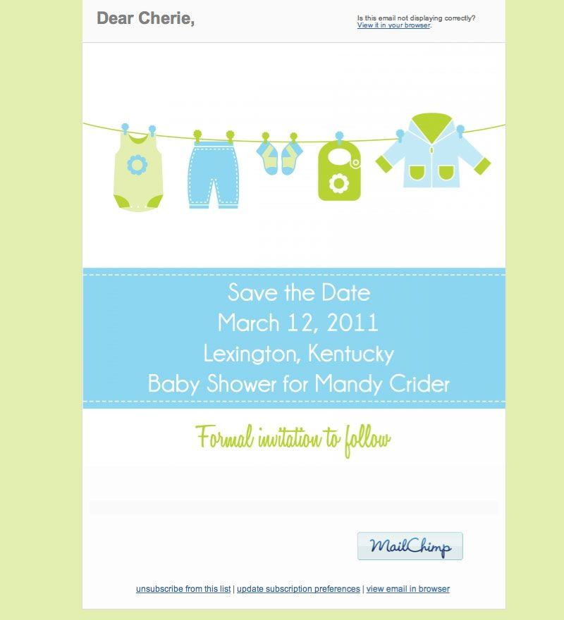 email save the date design ideas for chelsea s shower pinterest