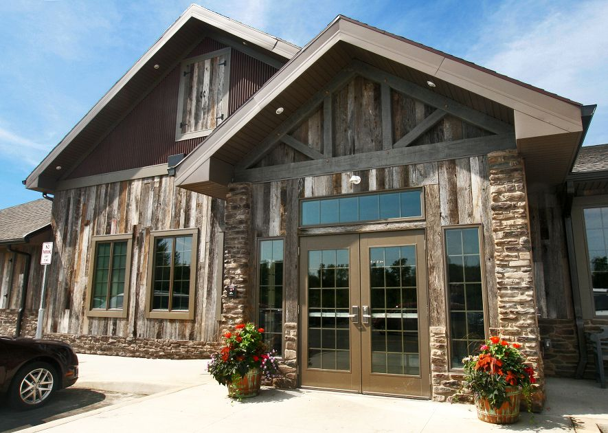 Everything Old Is New Again: Reclaimed Barn Wood Siding From Pioneer  Millworks  Like The Colors And Glass | Project X | Pinterest | Wood Siding,  ...