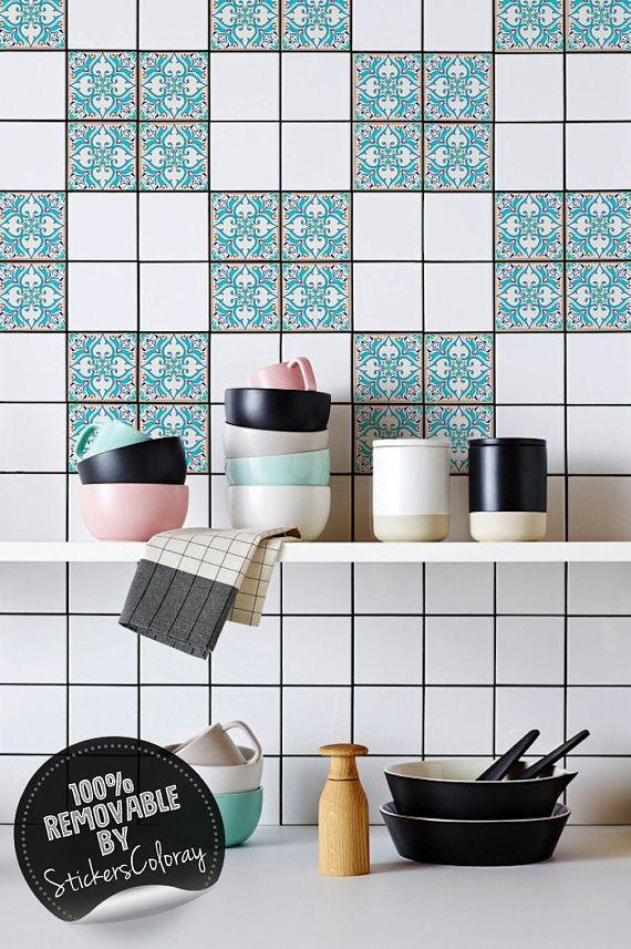 azulejos portuguese tile stickers