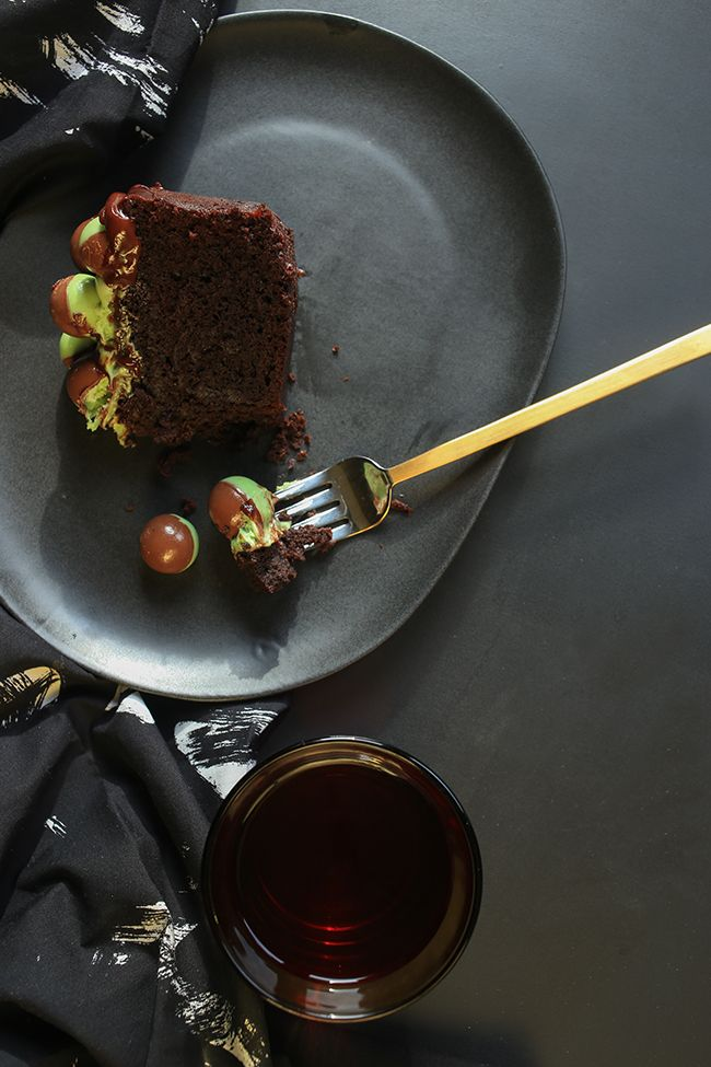 Minty and Super Moist Chocolate Cake