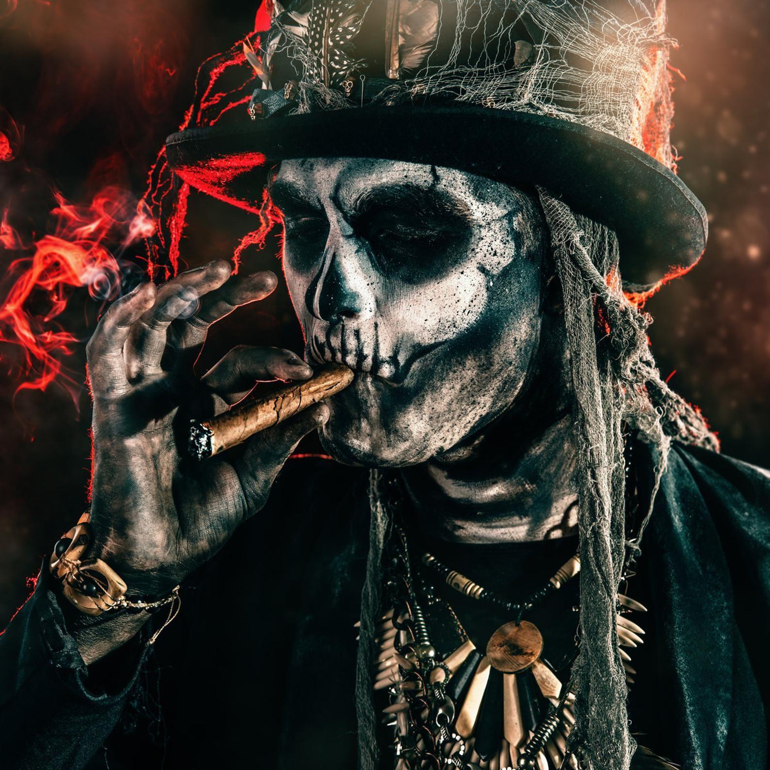 BARON SAMEDI Voodoo Spirit Unframed Print Free Shipping | Etsy | Baron  samedi, Voodoo costume, Voodoo