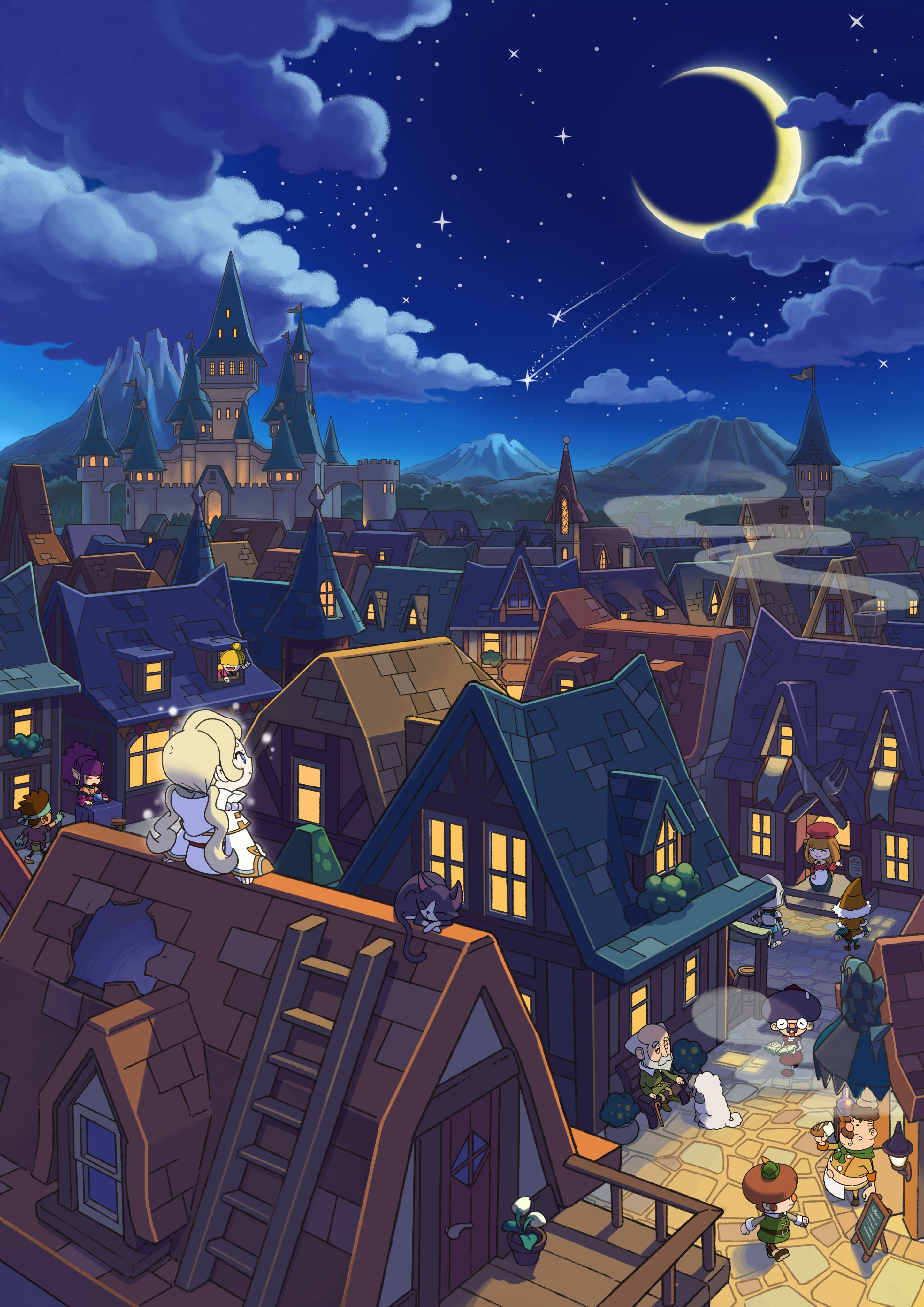 Fantasy Life art | Game Environment | Art, Fantasy life ...