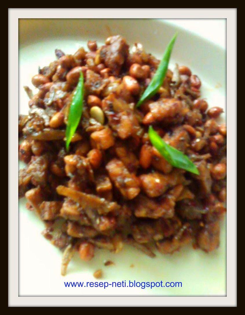 Resep Kering Tempe Kecap Dried Soy Sauce Tempe Recipes Resep Masakan Kusneti Resep Makanan Resep Masakan Resep