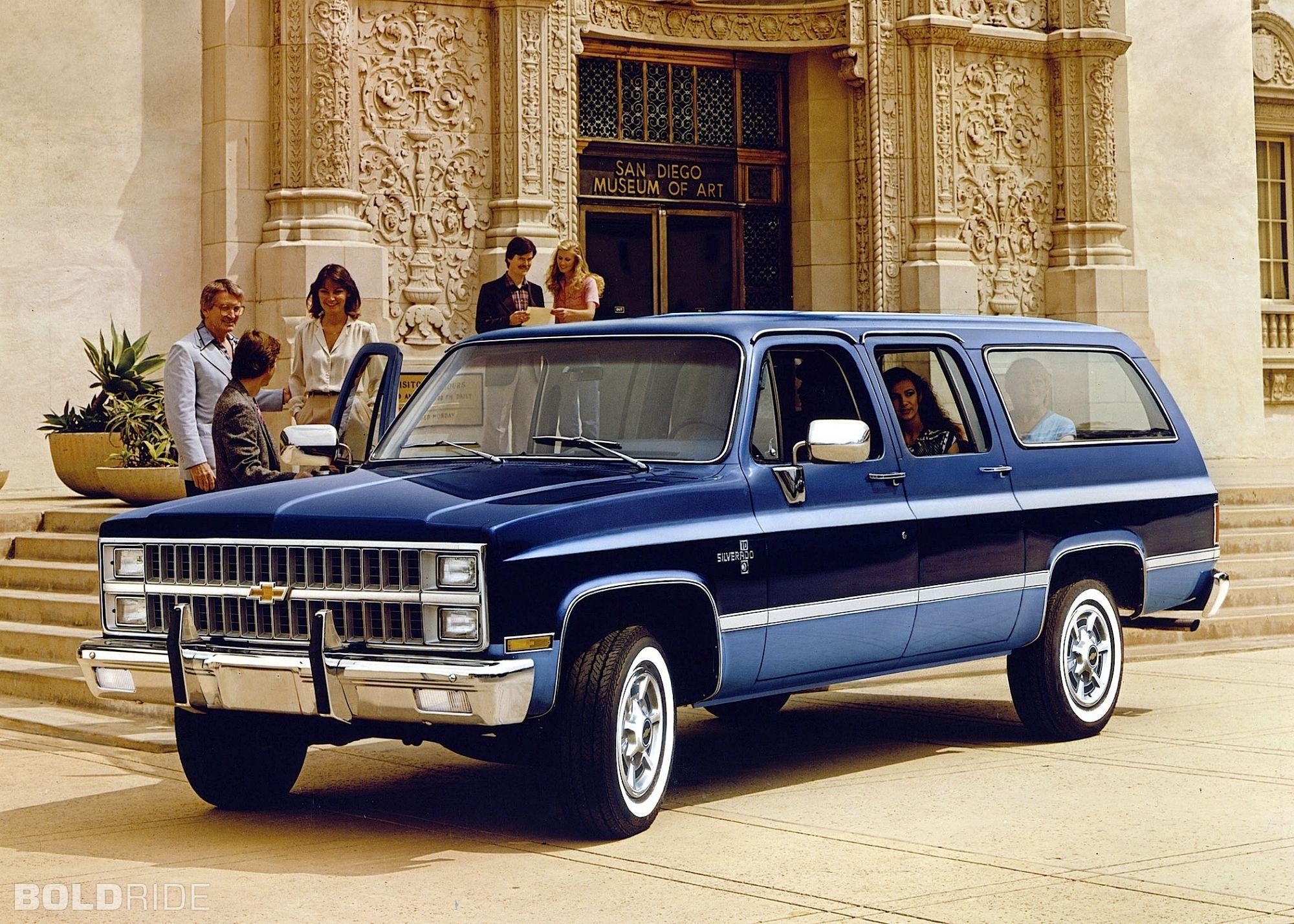 Chevrolet Suburban 1981 Chevrolet Suburban Chevrolet Chevy Suburban