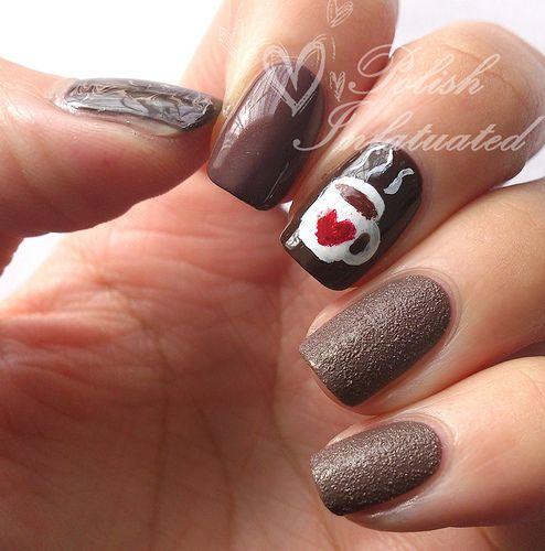 Hot Chocolate Nail Art Polish Infatuated