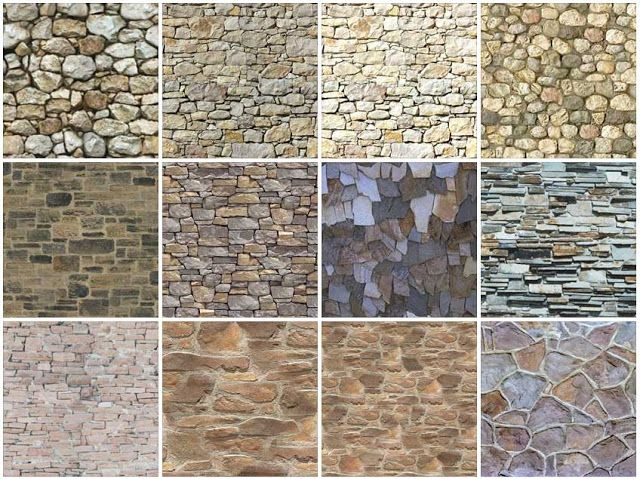SeamlessStoneWallTextureB  Brick  Stone  Concrete