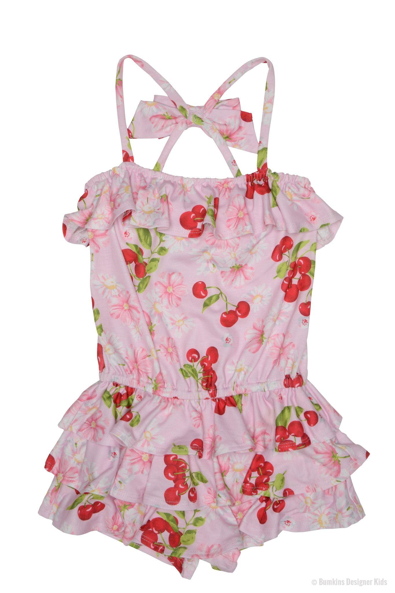 c3d275e9a6cb6 Kate Mack Cherries Jubilee Romper 579 Was £53.00 Now £37.00 | Girls ...