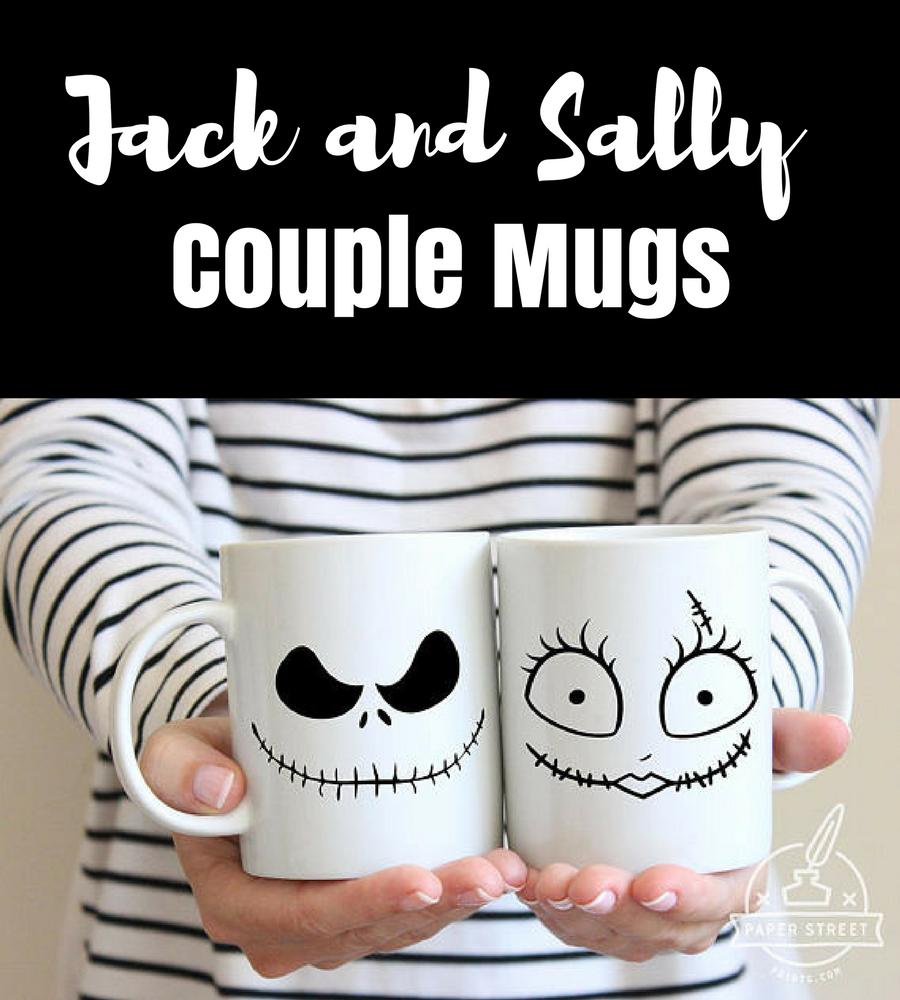 Jack and Sally Couple Mugs #Disney #NightmareBeforeChristmas ...