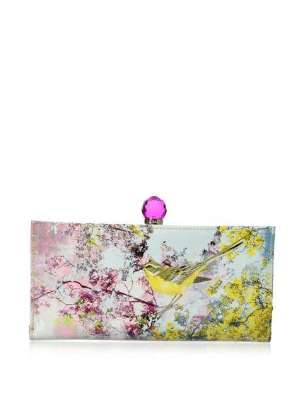 Ted Baker Women's Pretty Trees Print Matinee Wallet, http://www.myhabit.com/redirect/ref=qd_sw_dp_pi_li?url=http%3A%2F%2Fwww.myhabit.com%2Fdp%2FB00IO9L5WG%3F
