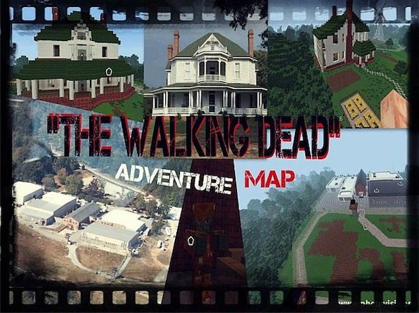 The walking dead map 18 and 1710 minecraft maps pinterest the walking dead map for minecraft and do you get pleasure from leisure with the extremely common and breakout hit of zombies sciox Gallery