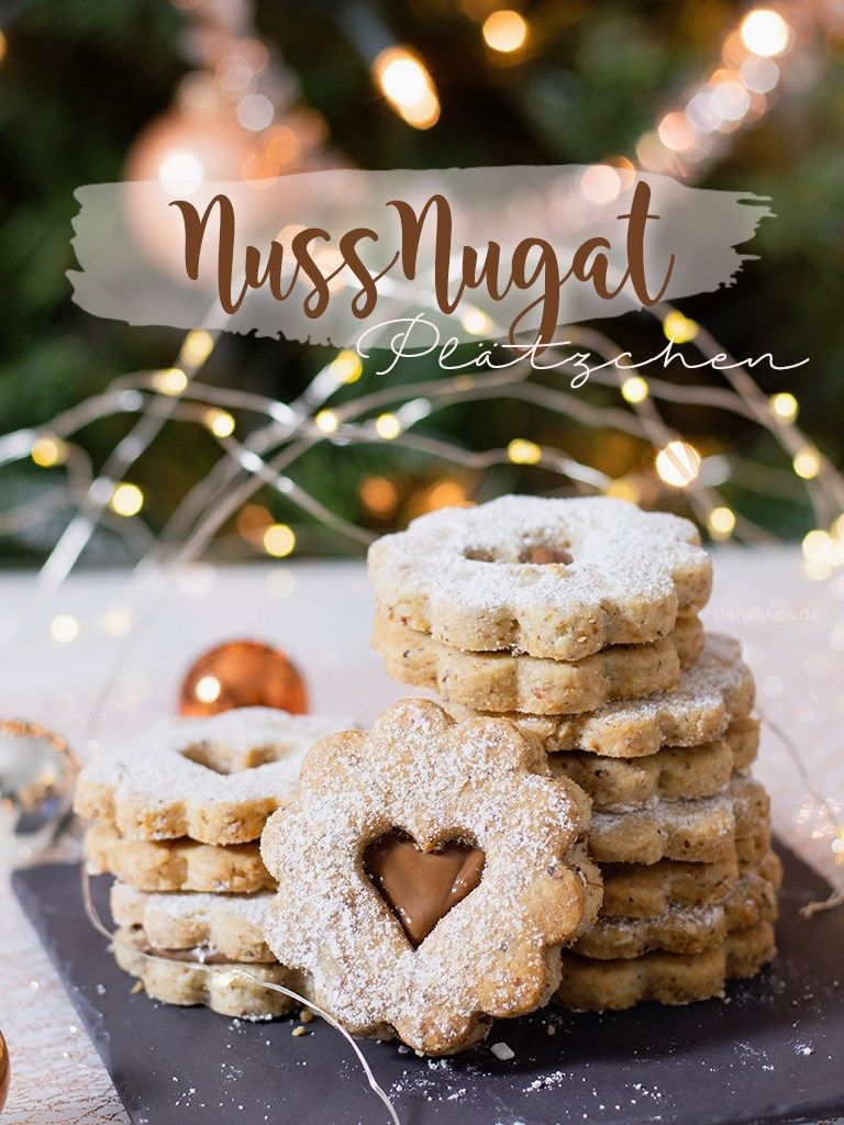 Photo of Fine nut-nougat cookies