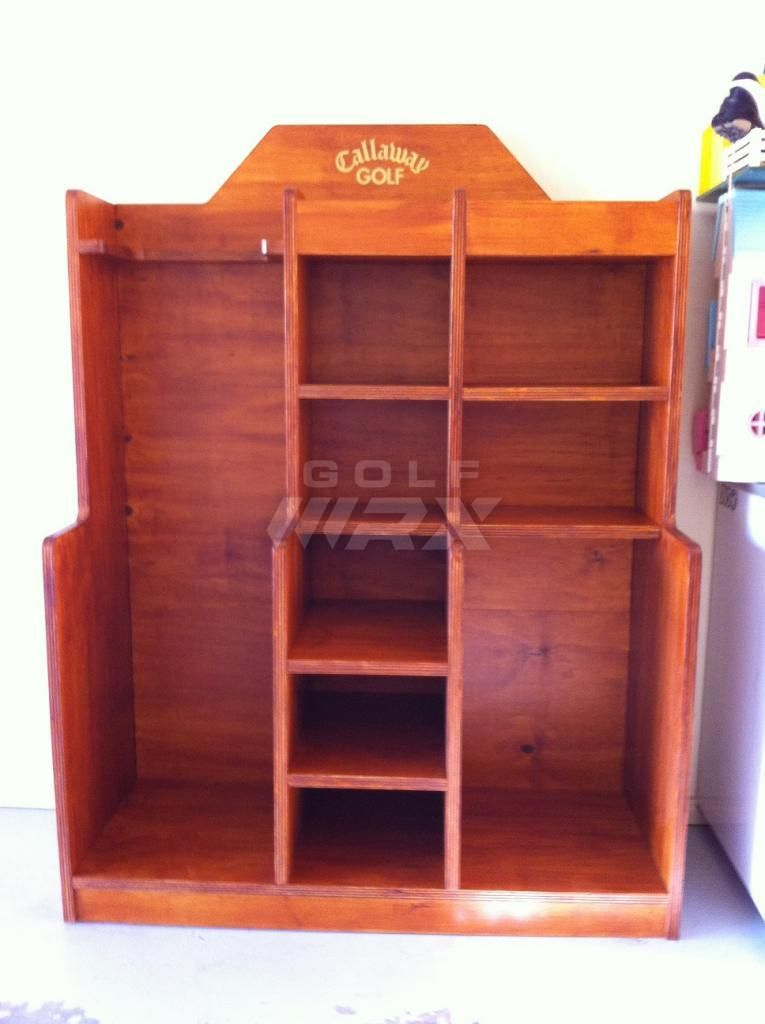 Nice Golf Storage Unit   Pictures And Plans   Golf Bags/Carts/Headcovers