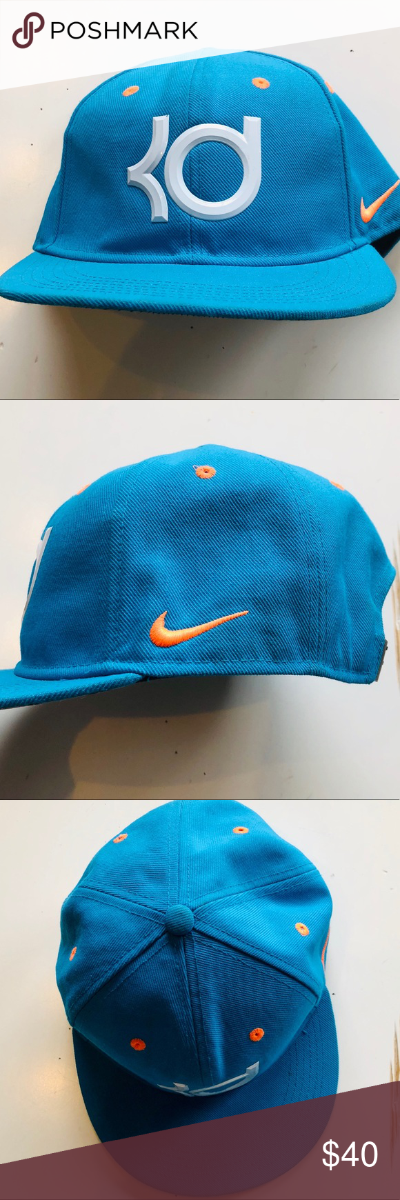 1c0ba3e420c61 Nike KD Kevin Durant 6 ELITE SERIES TRUE SNAPBACK Excellent condition with  no flaws tears stains or fading! Like New! Authentic Nike KD Kevin Durant  Cap!