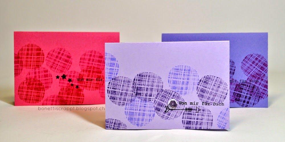 Schnelle Kärtchen #papierprojekt