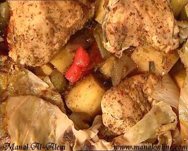 صينية الدجاج بالخضروات 2012 Middle Eastern Recipes Recipes Food