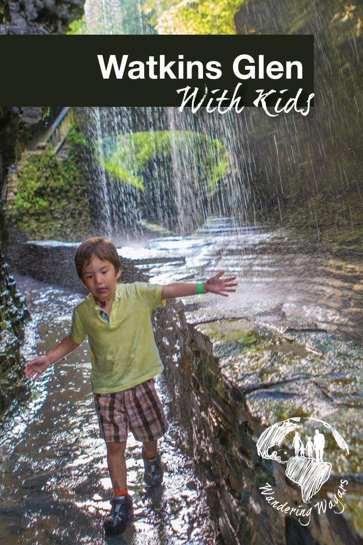 Hiking the picturesque watkins glen state park watkins