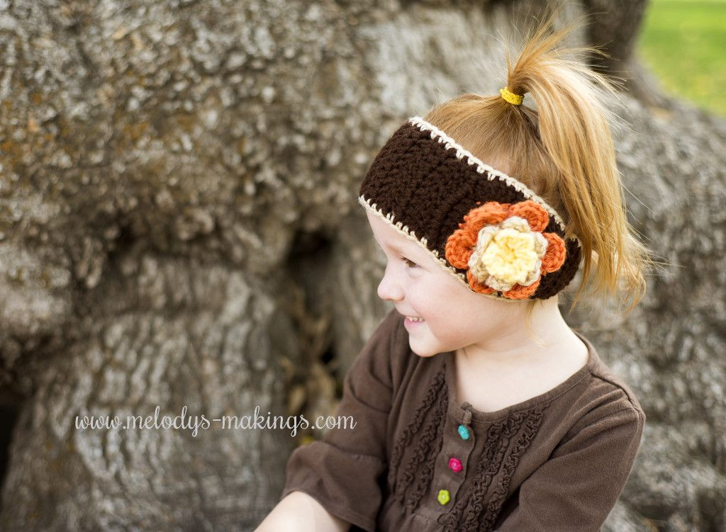 Falling Flowers Ear Warmer – Free Crochet Pattern! Includes Sizes ...