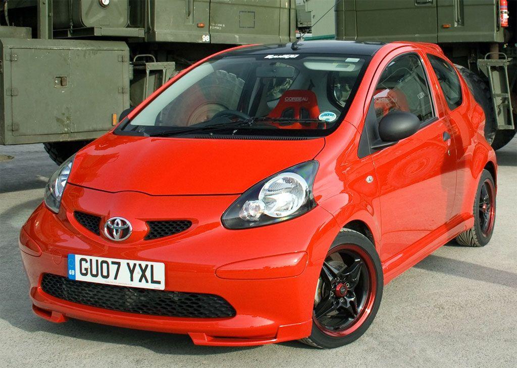 Banzai Toyota Aygo Toyota Aygo Car Tuning Toyota