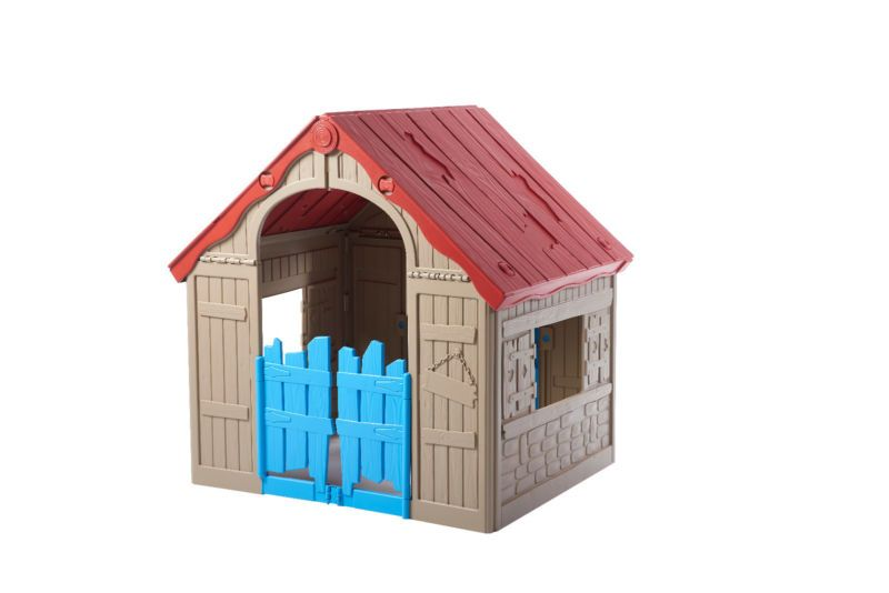 Cubby House Keter Foldable Playhouse Rrp 299 Sale 128 Inc