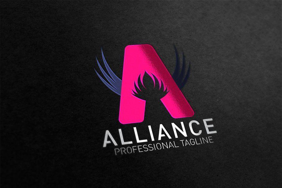 Letter A Alliance Logo
