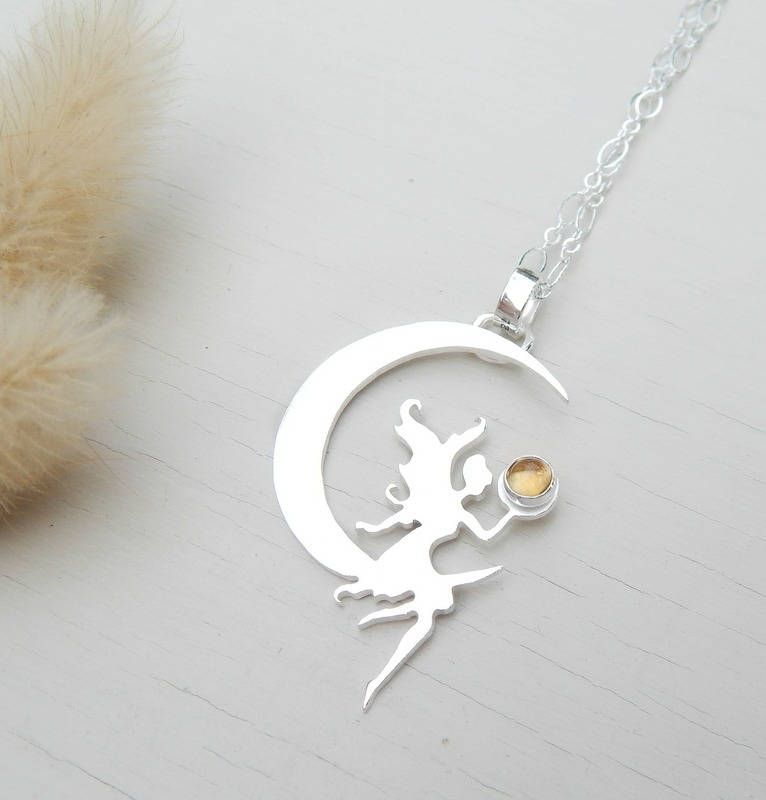 collier argent fee