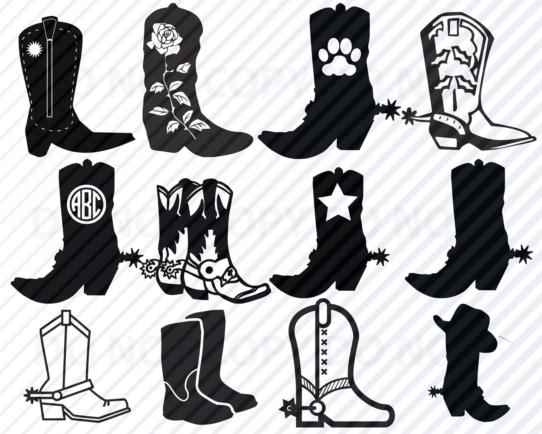 Sticko scrapbooking stickers of cowboy gear 6.5 x 4