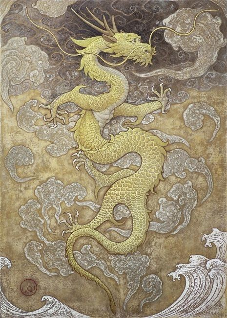 YELLOW DRAGON BY TOSHIYUKI ENOKI | DRAGONFIRE in 2019