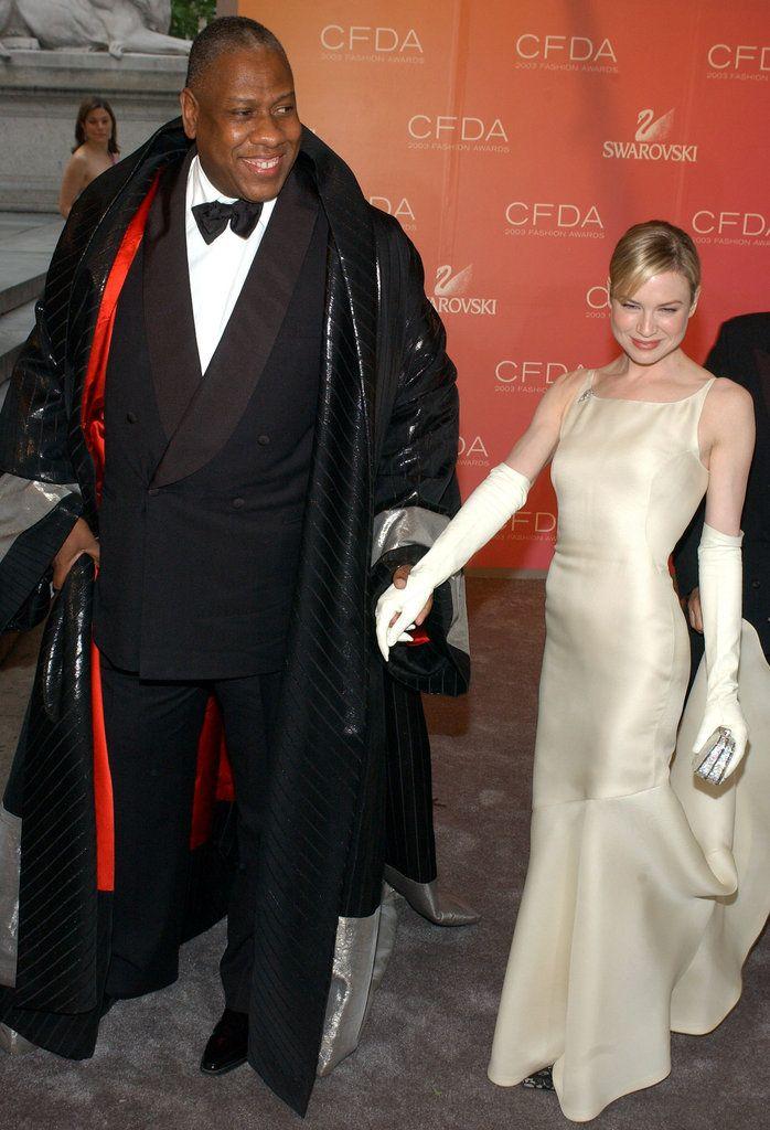 Andre Leon Talley & Renee Zellweger | Men's Fashion ...