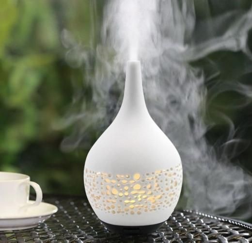 Decorative Decor *new* Ultrasonic Diffuser White Ceramic