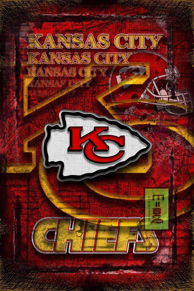 Kansas City Chiefs Sports Poster Kansas City Chiefs Artwork Chiefs In Front Of Kc Map Chiefs Nfl Man Cave Gift Kansas City Chiefs Kansas City Chiefs Logo Chiefs Wallpaper