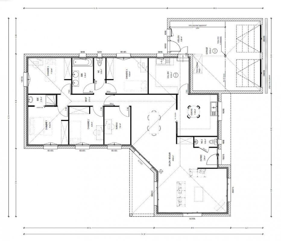 Plans De Maison  Construire  AvantProjet Fougere   M