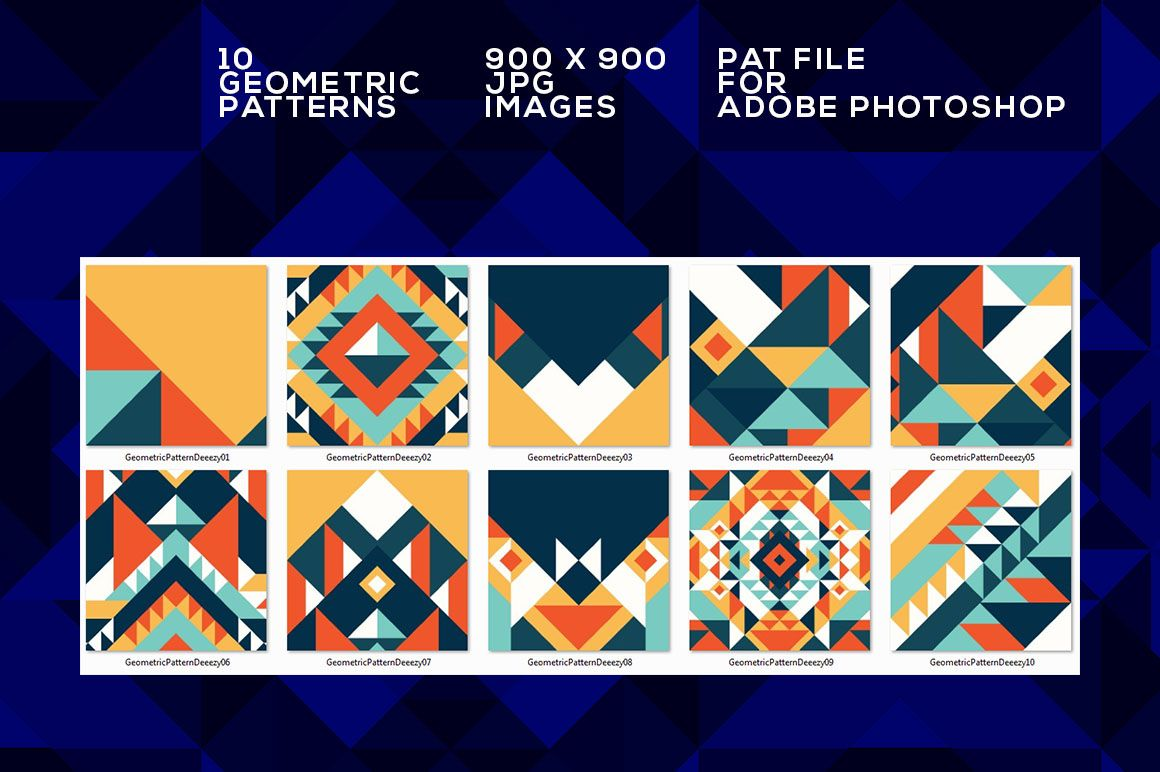 Colorful geometric patterns deeezy freebies with