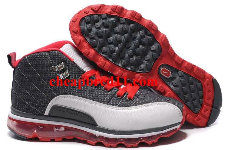 Air Jordan 12(XII) Air Max 09 Sole Fusion Cool GreyWhite