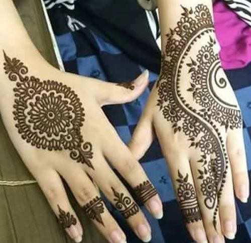 Beautiful Eid Ul Fitr mehndi designs 2017
