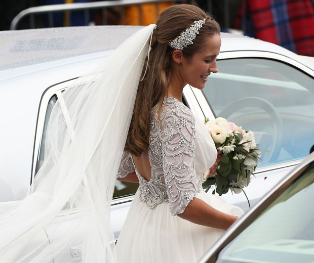 Kim Sears Pulls A Kate Middleton On Her Wedding Day