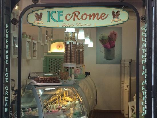 The best Gelato in Rome.