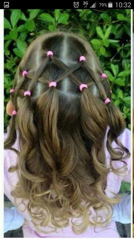 Easy Hairstyles For Kids Frisuren Für Mädels …  Ideas For Lareighn's Hair  Pinterest  Girl