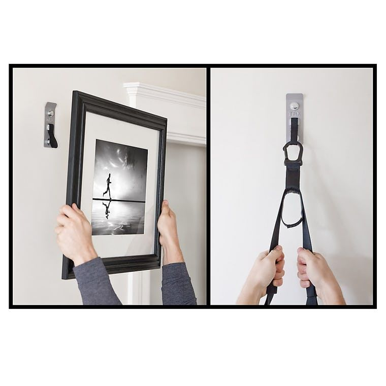 Story A TRX wall mount that doubles as a picture frame when you\'re ...